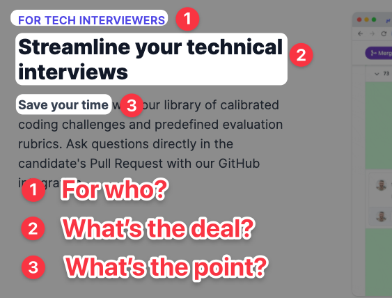 Feature: for interviewers